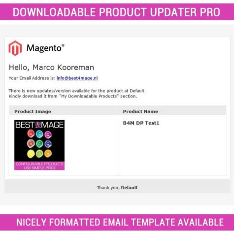 Downloadable Product updater Pro